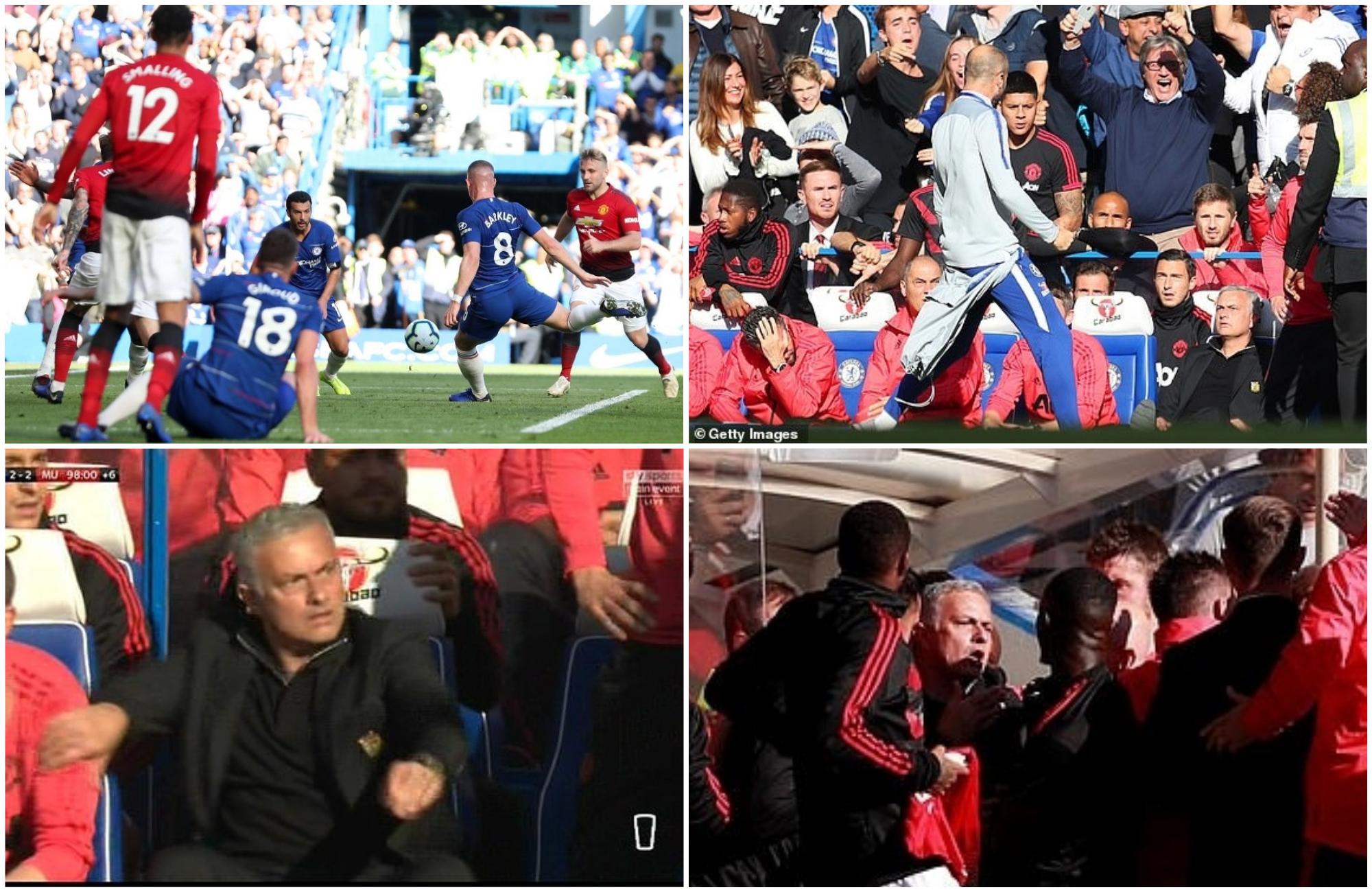 Mourinho Chelsea United 2 2