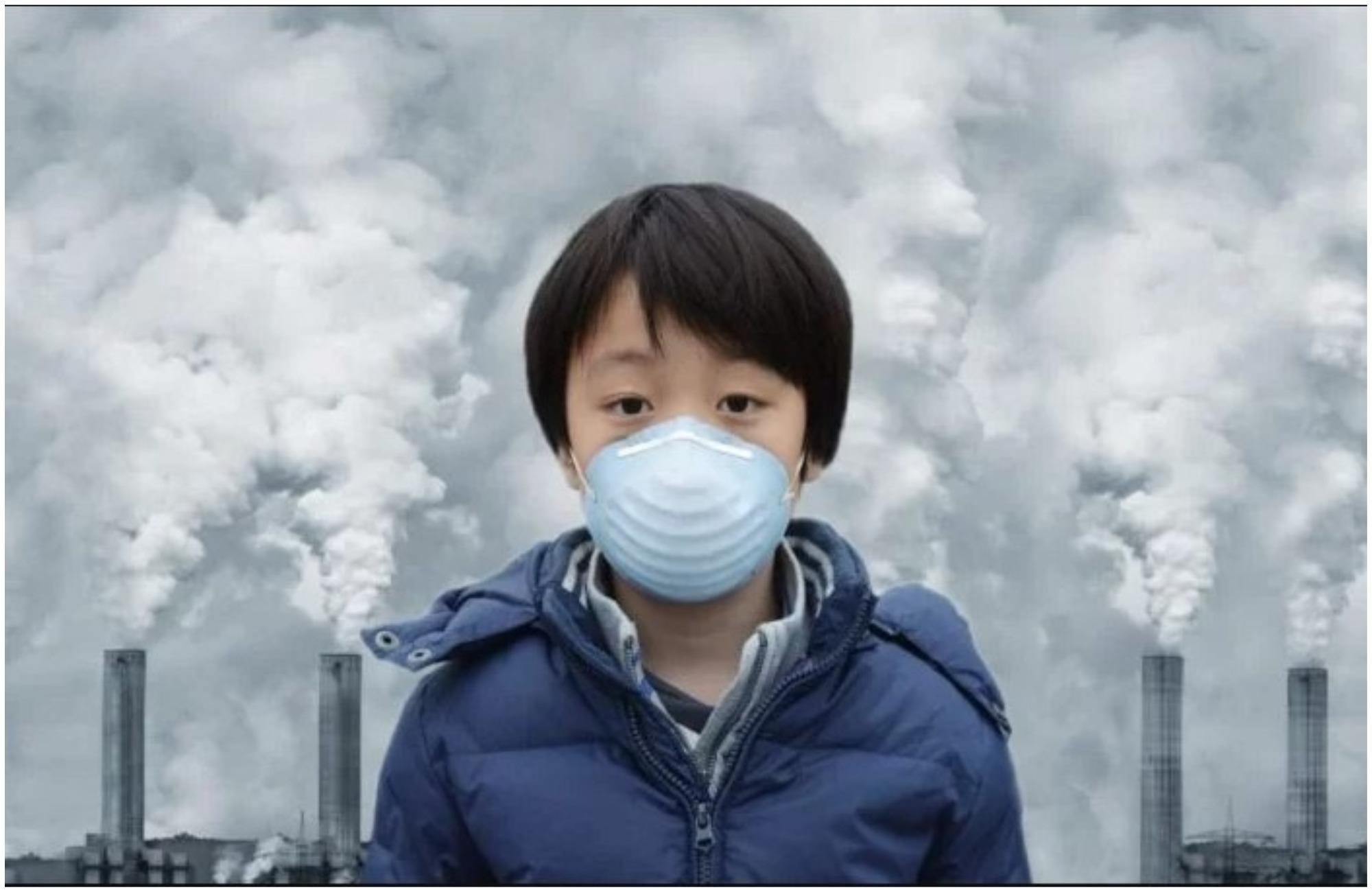 ajri i ndotur te femijet