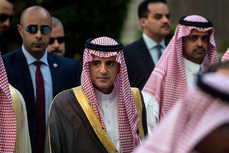 minister of foreign affairs adel al jubeir