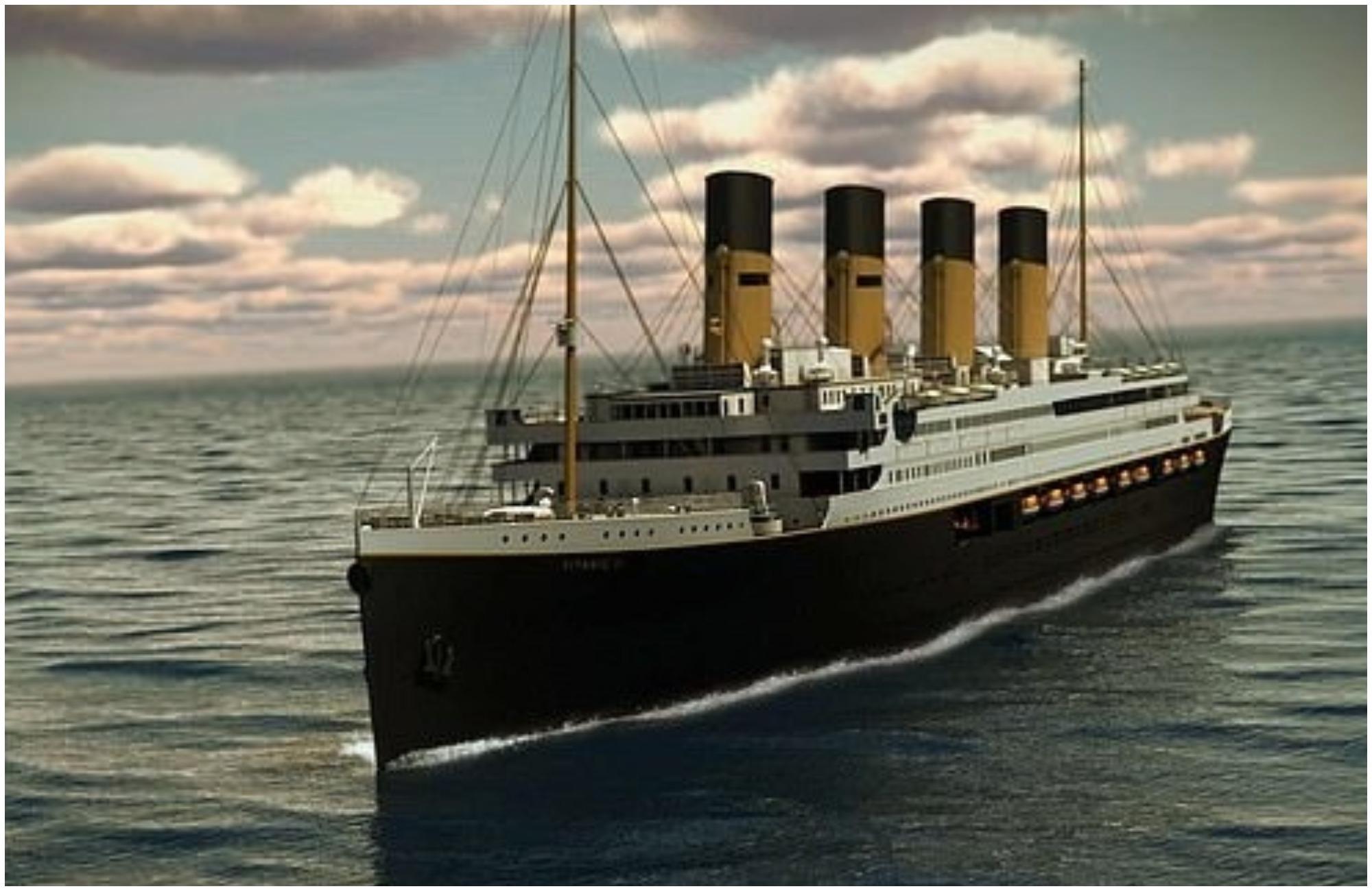 titaniku kryesore