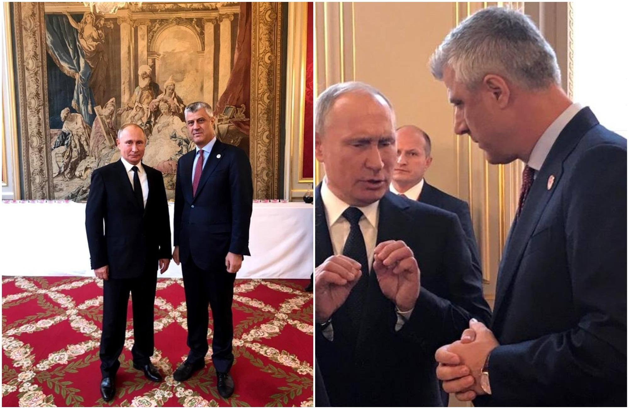 Thaci Putin 1
