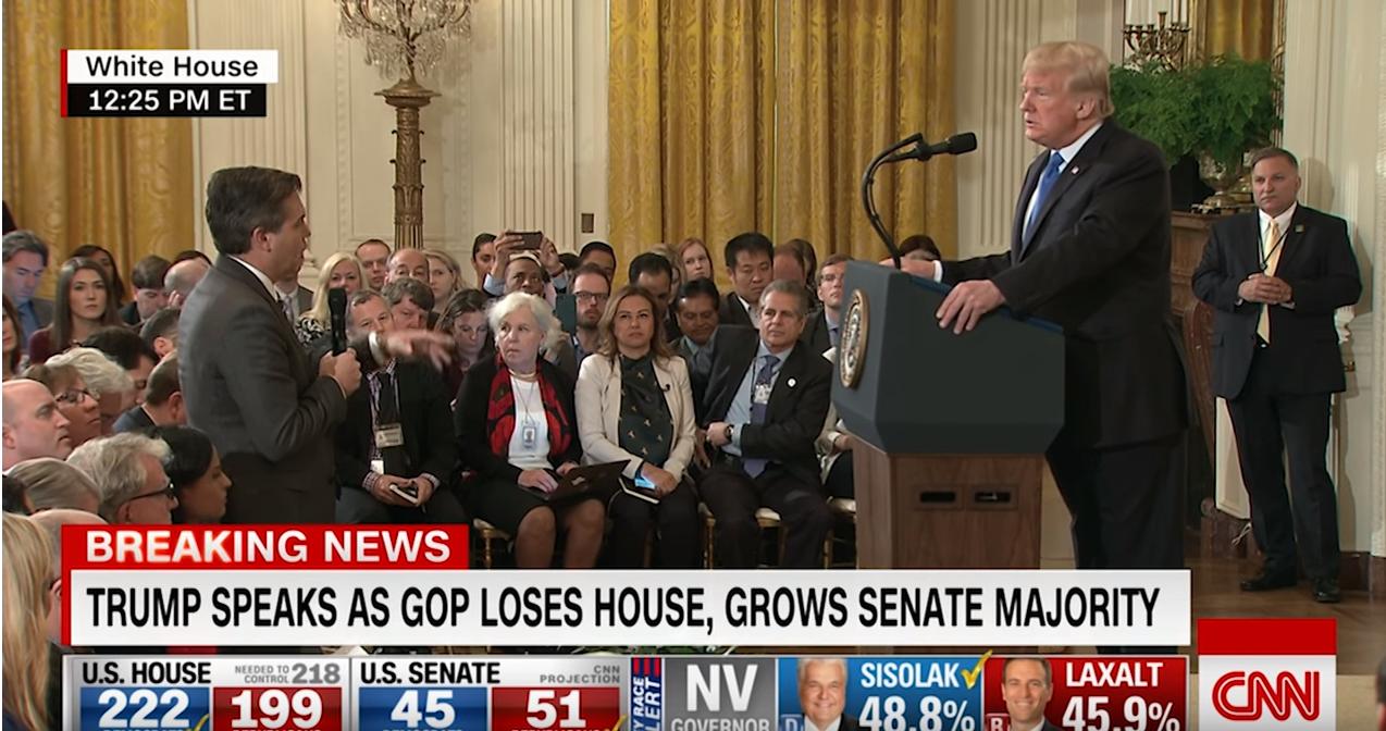 Trump Acosta