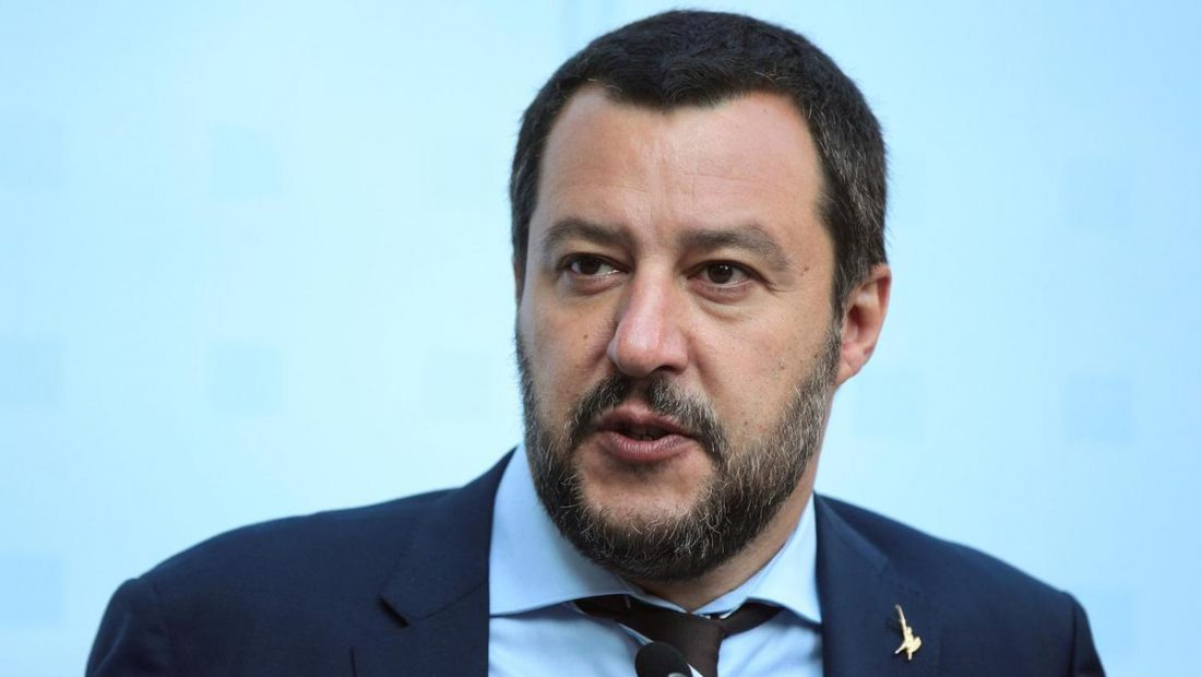 FILE PHOTO FILE PHOTO Italy s Salvini attends a trilateral meeting in Innsbruck 1100x620