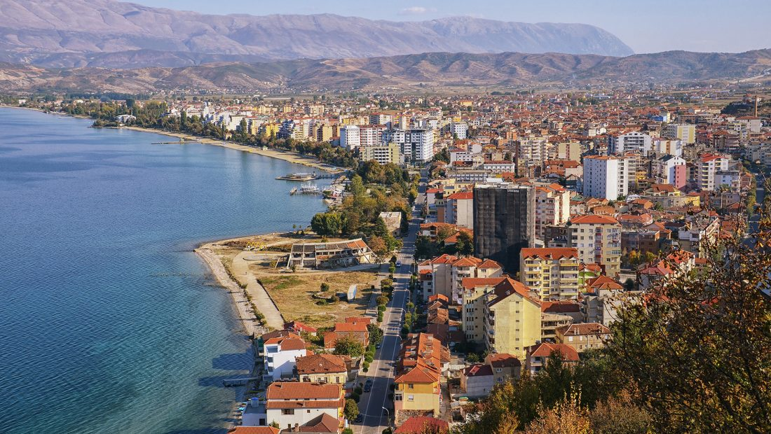 Pogradec Albania – Panoramic view 2018 03 1100x620