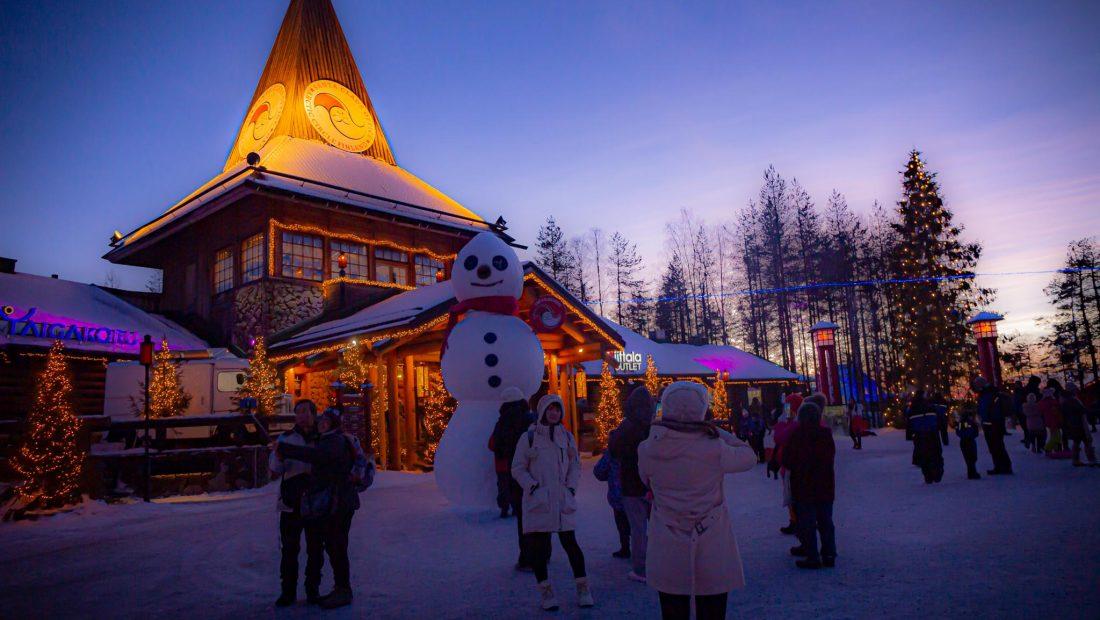 Christmas mood in Santa Claus Village Finland Rovaniemi Finland Visit Lapland Pic Jasim Sarker 1 1100x620