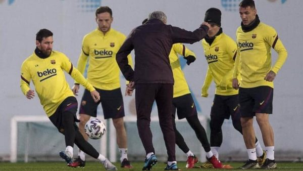Manaj stërvitet përkrah Messi dhe Griezmann – A2 CNN
