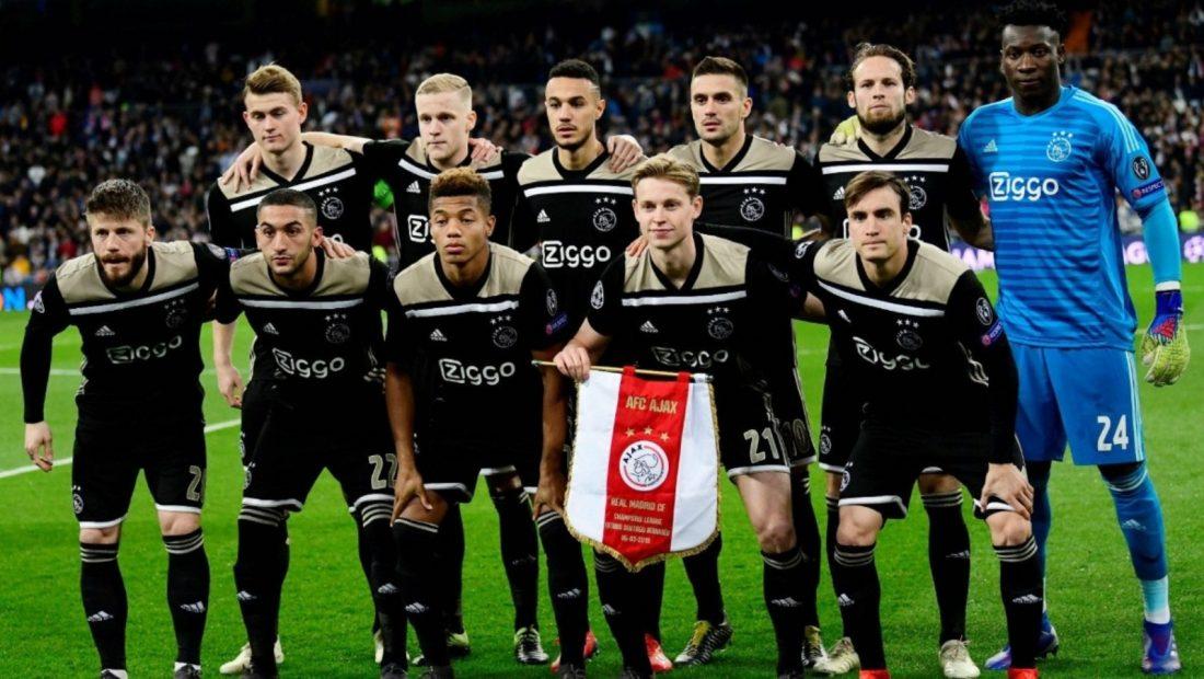 Ajax 2018 2019 Champions League 1100x620
