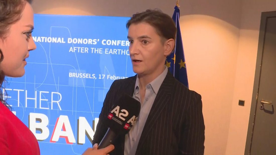 Ana BRNABIC Bruksel Konferenca e Donatoreve a2 1100x620