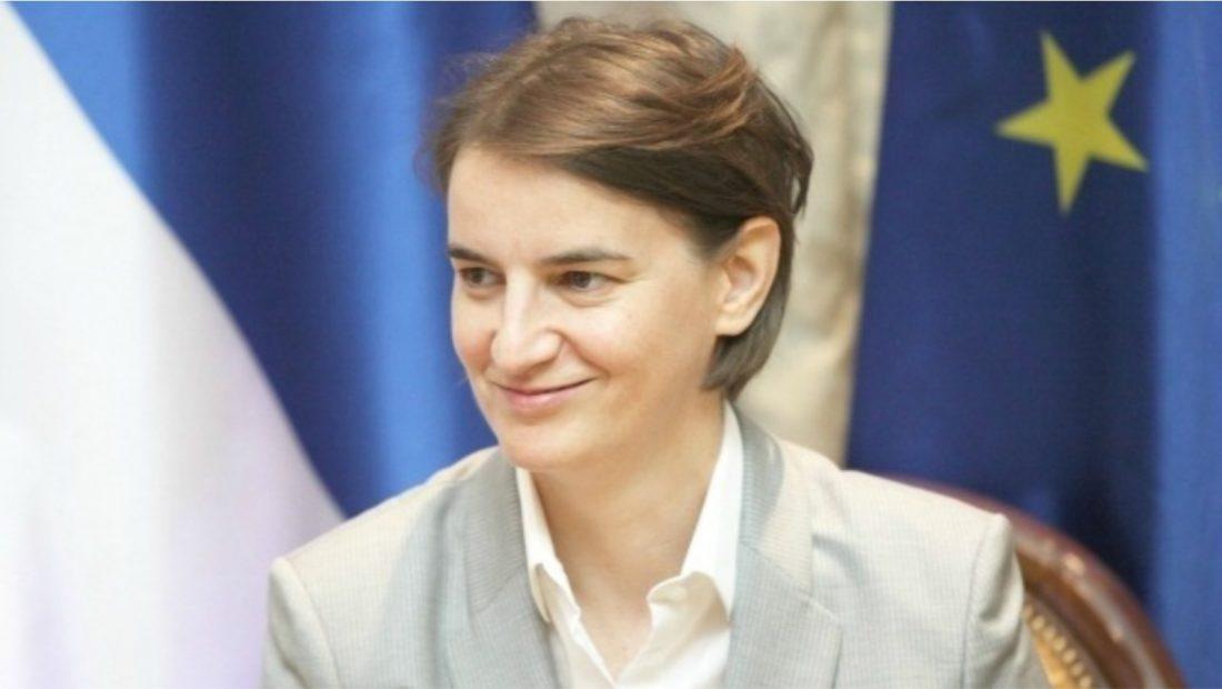 Ana Brnabic Kryeministrja e Serbise 1100x620