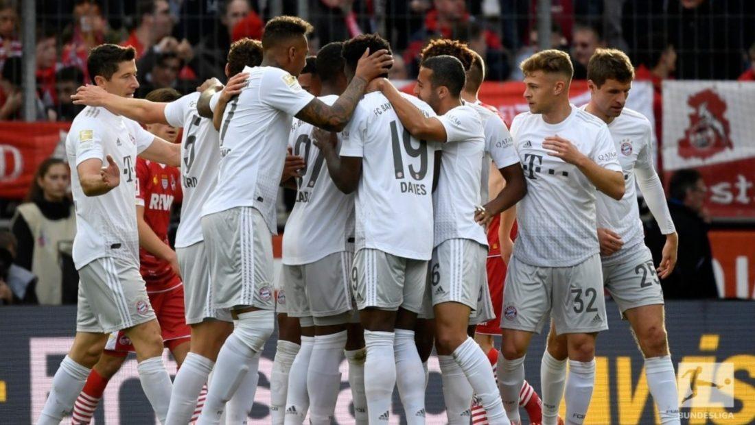 Bayern Munchen Koln Bundesliga 1100x620