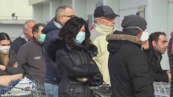 Koronavirusi, 7 të vdekur në Itali, 229 raste të konfirmuara