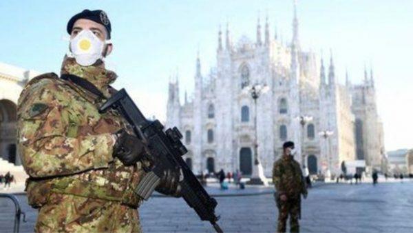 Mbrojtja Civile në Itali: Kazermat ushtarake për personat në karantinë