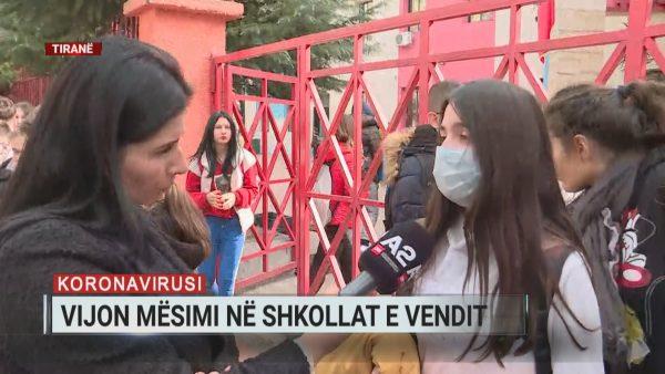 Rreziku nga koronavirusi, situata në shkollat e Tiranës