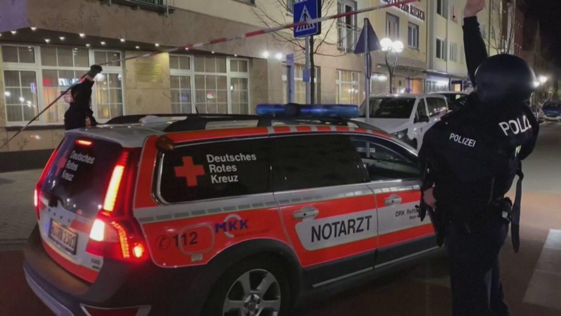 Policia Gjermane Sulmet me arme Hanaur 1100x620