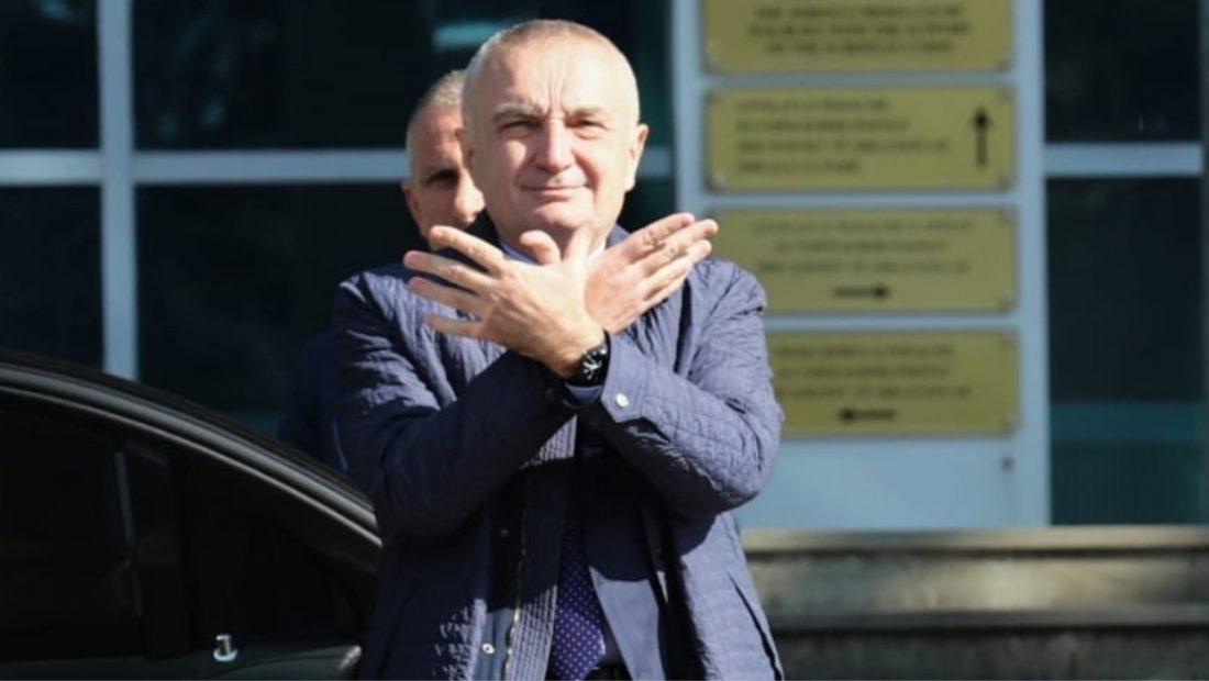 Presidenti Ilir Meta me simbolin e shqiponjes 1100x620