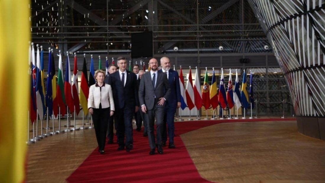 Rama ne Bruksel Rama në Bruksel pritet nga Presidenti i Këshillit Europian Charles Michel 1100x620
