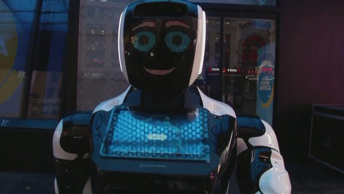 Roboti ne Nju Jork Koronavirusi 1100x620