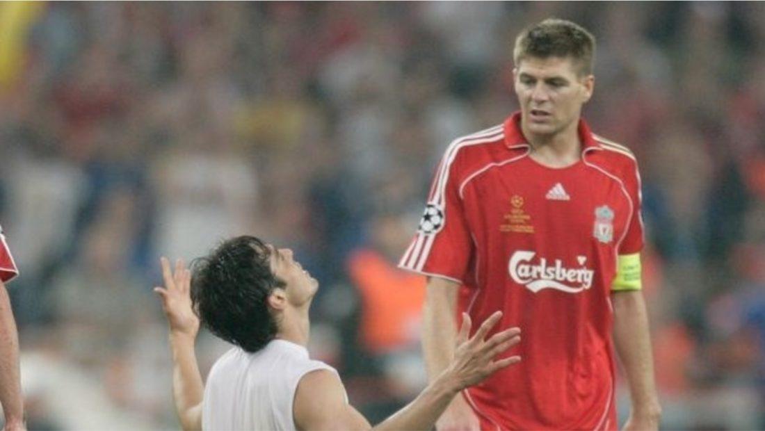 Steven Gerard Kaka Milan Liverpool 1100x620