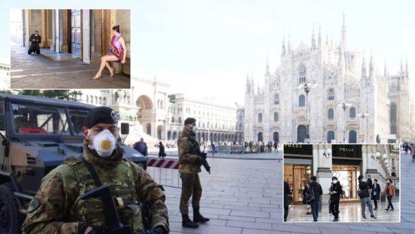 Koronavirusi në Itali, Milano gjysmë bosh, por nuk mungojnë kinezët