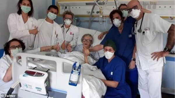95-vjeçarja mposht koronavirusin, personi më i vjetër i shëruar në Itali