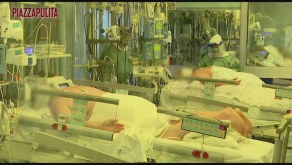 Pacientët me Covid-19, shfaqen pamjet brenda spitalit në Kremona