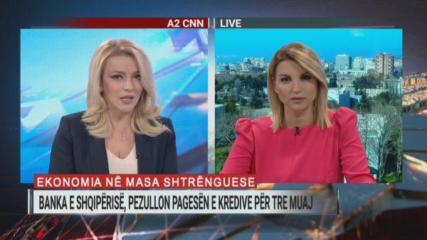 Banka e Shqipërisë pezullon pagesën e kredive për 3 muaj