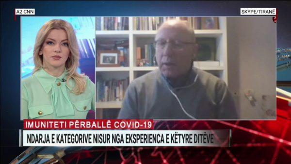 Profesor Sulçebe: S'duhet të kemi frikë, besoj se vaksina do të jetë gati brenda vjeshtës