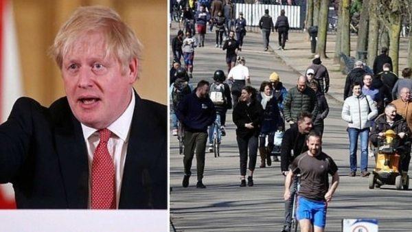 Johnson: Qëndroni dy metra larg njëri-tjetrit ose ju mbylla në shtëpi