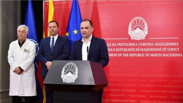 Maqedonia e Veriut raporton dhe 22 raste të reja me Covid-19, 2 viktima