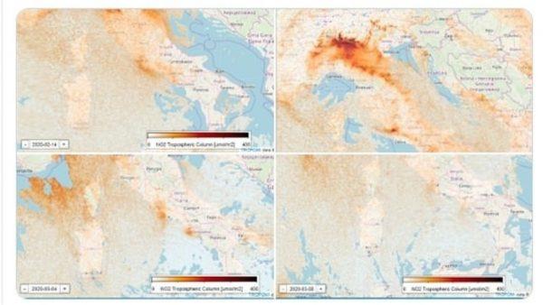 Masat ndaj koronavirusit, ulet niveli i ndotjes edhe në Itali