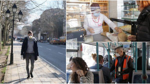 Tirana, dy ditë pas koronavirusit…