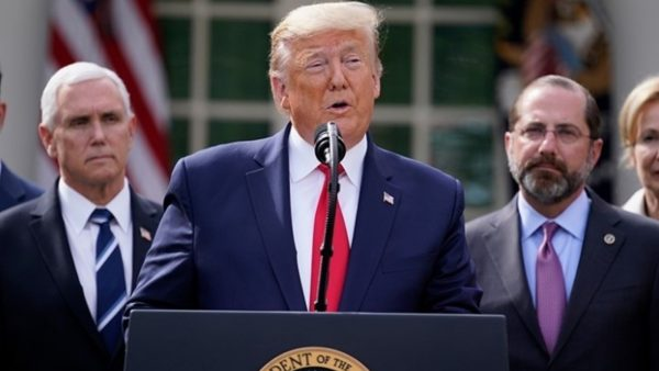 Koronavirusi, Trump dhuron pagën e 3 muajve për Departamentin e Shëndetit