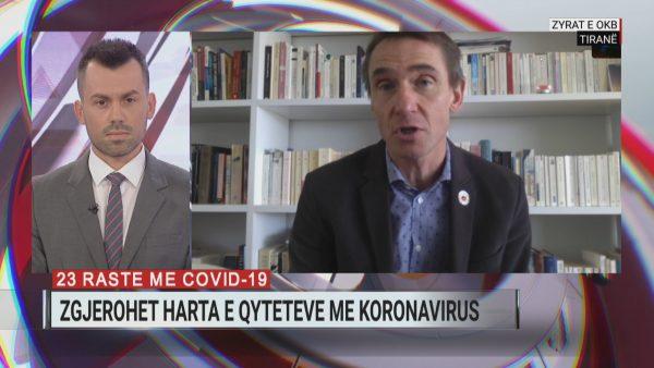 Masat për koronavirusin, koordinatori i përhershëm i OKB në Tiranë për A2: 150 punonjës do të punojnë nga shtëpia