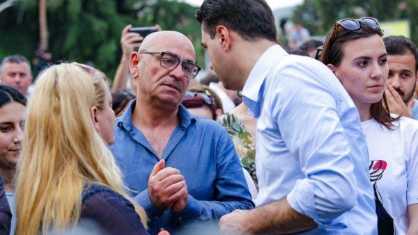Protesta për Teatrin, Basha: Në krah të qytetarëve kundër padrejtësisë