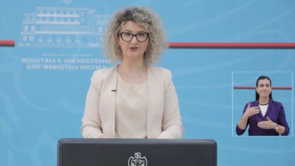 Koronavirusi në Shqipëri, Ministria e Shëndetësisë: 21 raste të reja në Tiranë, asnjë rast në zonat e tjera