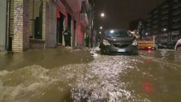 Stuhi gjatë natës, përmbytet Milano