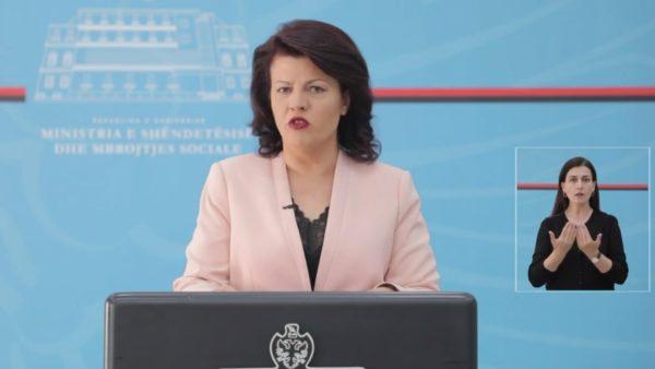 Ministria e Shëndetësisë: 26 raste të reja në Tiranë, asnjë rast në zonat e tjera