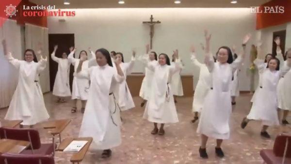 """Kreativitet në pandemi, video e murgeshave të """"Santa Rosa"""" bëhet virale"""