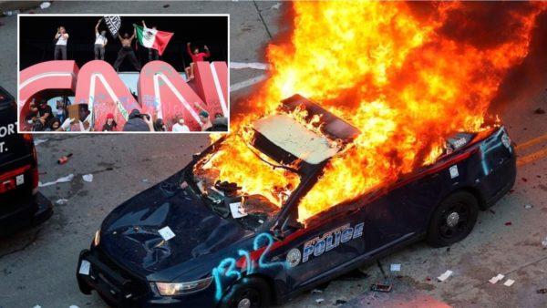 """Vdekja e George Floyd """"ngre në këmbë"""" Amerikën, dëmtohet edhe selia e CNN"""