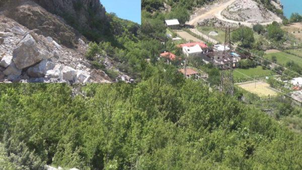 """Shkëputja e masivit shkëmbor në Koman, """"na ka shpëtuar vetëm fati"""""""