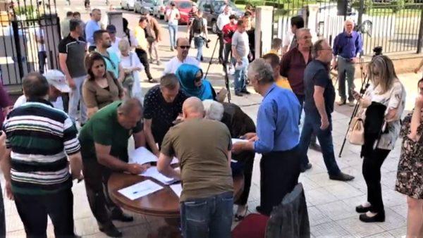 Peticioni për Teatrin, Aleanca protestë në qytetin e Shkodrës
