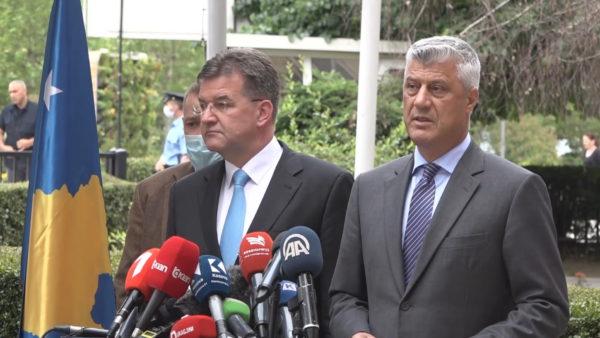 Takimi me Lajçak, Thaçi: Dialogu të përfundojë me njohje reciproke
