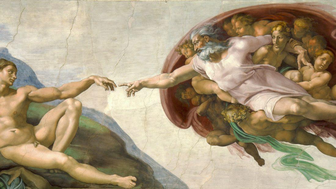 Michelangelo   Creation of Adam cropped 1100x620