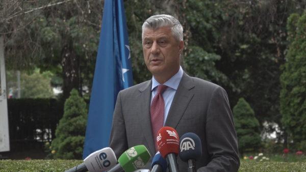 Thaçi: S'mundet të ketë mbyllje të konfliktit me Serbinë pa përcaktimin e vijës kufitare