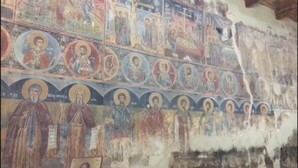 Rrënimi i Kishës së Shelcanit, po zhduket ikonografia e Onufrit e Shpatarakut