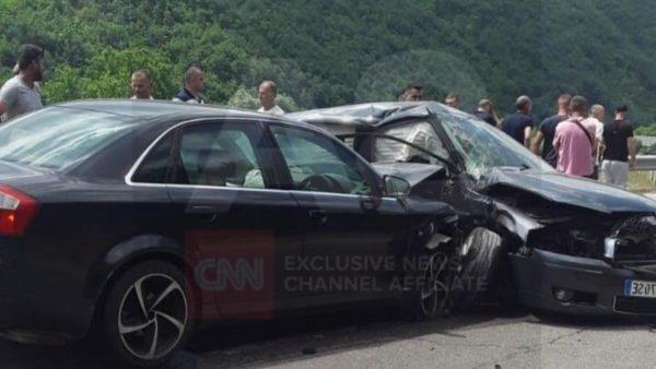 Përplasen 3 automjete në Bulqizë, disa të plagosur