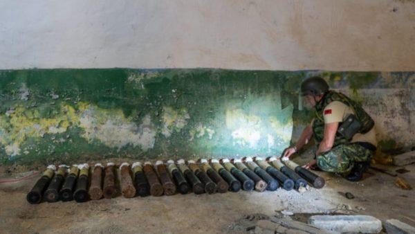 Asgjësohen municionet e pashpërthyera në Sazan