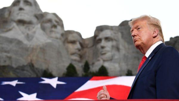 """Trump, fjalim i ashpër """"përballë"""" presidentëve historikë : Fashizmi i majtë kërkon të zhdukë vlerat tona"""