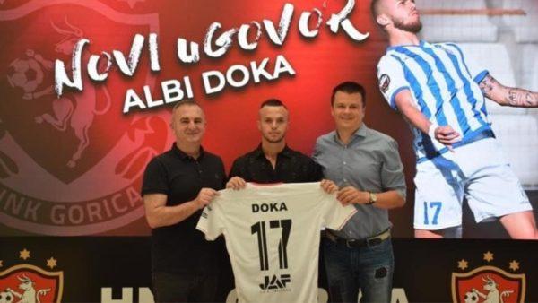 Kontratë 4-vjeçare, Albi Doka prezantohet te kroatët e HNK Gorica
