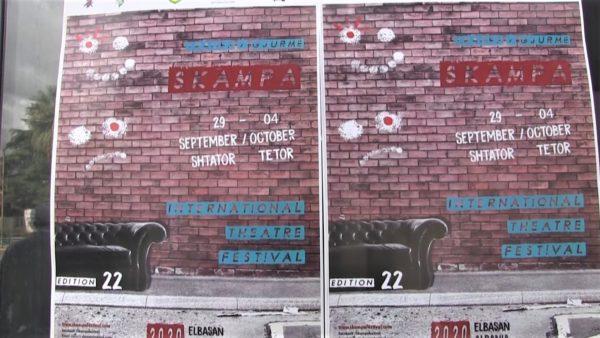 """Shfaqje në ambiente të hapura, nis Festivali i 22-të ndërkombëtar i teatrit """"Skampa'' në Elbasan"""